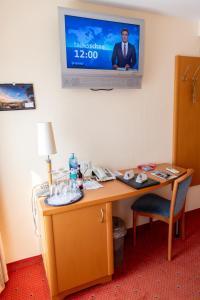 TV/Unterhaltungsangebot in der Unterkunft Flair Hotel Deutsches Haus
