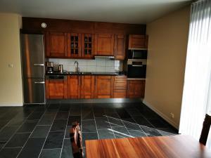 Kjøkken eller kjøkkenkrok på Apart Hotel