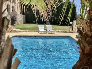 Bazén v ubytování Jávea Apartment del Mar nebo v jeho okolí