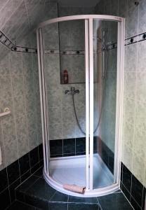 A bathroom at Apartmán Adam