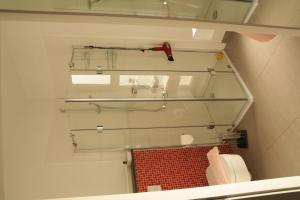 Ein Badezimmer in der Unterkunft Gästezimmer am Elberadweg