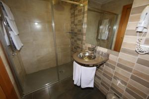 Ванная комната в Hotel Universidad