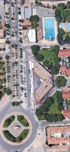 Hotel Universidad с высоты птичьего полета