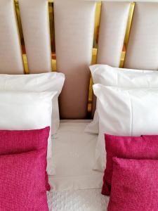 Uma cama ou camas num quarto em Nova Delpa AL