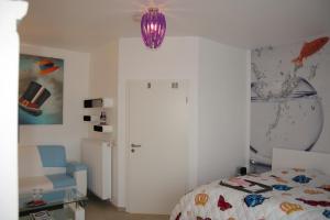 Ein Bett oder Betten in einem Zimmer der Unterkunft Gästezimmer am Elberadweg