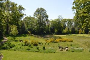 A garden outside Erve Grootenhuys