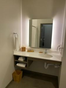 A bathroom at Best Western Plus at La Crescent Event Center
