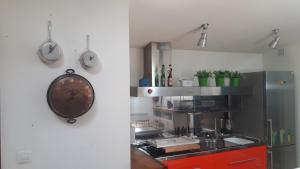 Una cocina o zona de cocina en El Caminero