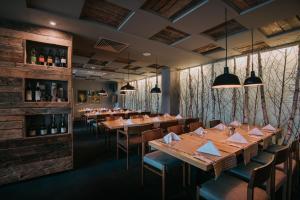 Un restaurant sau alt loc unde se poate mânca la Balvanyos Resort (Grand Hotel Balvanyos)