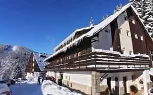 Pension Renata v zimě