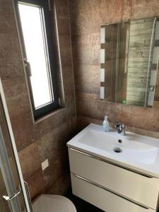 Łazienka w obiekcie HAUSBOOT