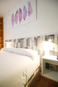 Cama o camas de una habitación en Aralso Santa Isabel