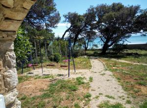 A garden outside vila H.A.J.