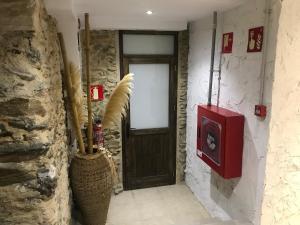 Ένα μπάνιο στο Hotel Mas Palou