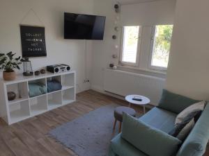 TV/Unterhaltungsangebot in der Unterkunft Bleibegern - Ihr Zuhause in Rotenburg