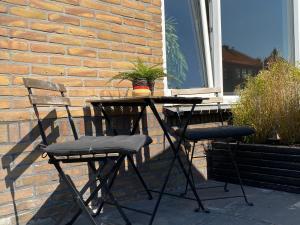 Ein Balkon oder eine Terrasse in der Unterkunft Short Stay Zandvoort