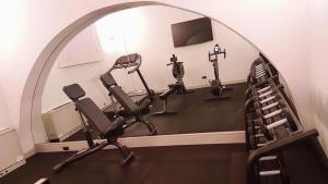 The fitness center and/or fitness facilities at Monti Palace Hotel