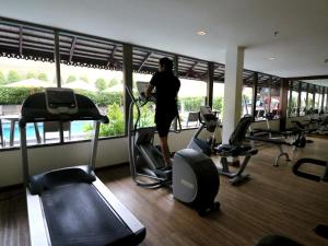 The fitness center and/or fitness facilities at Dusit Princess Chiang Mai