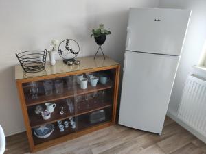 Küche/Küchenzeile in der Unterkunft Bleibegern - Ihr Zuhause in Rotenburg