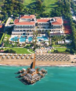A bird's-eye view of Kempinski Hotel The Dome Belek Golf and Thalasso