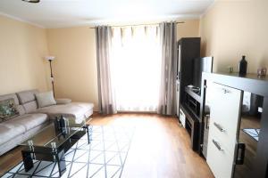 Posezení v ubytování Apartment Fox