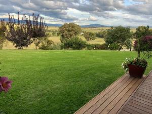 A garden outside The Studio - Yarra Valley