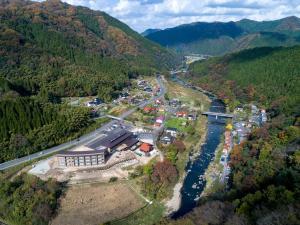 出雲湯村温泉国民宿舎清嵐荘 の鳥瞰図