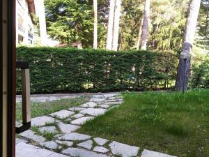 A garden outside Scoiattolo