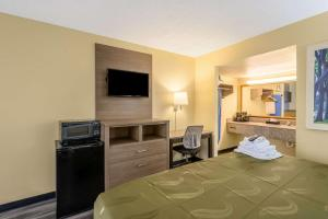 A television and/or entertainment center at Quality Inn
