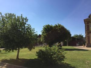 Jardin de l'établissement maison de maitre