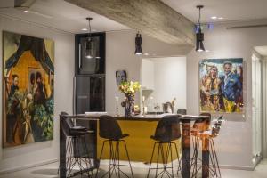 Η κουζίνα ή μικρή κουζίνα στο ApArt Suite