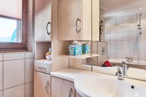 Ein Badezimmer in der Unterkunft Landhaus Klotz