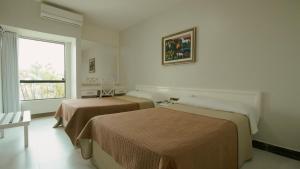 Cama ou camas em um quarto em Xingó Parque Hotel & Resort