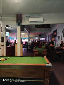 A billiards table at Essex Arms