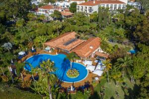 A bird's-eye view of Quinta Jardins do Lago