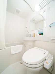 A bathroom at Super Hotel Hida Takayama