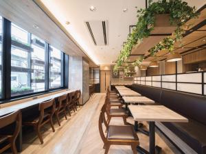 The lounge or bar area at Super Hotel Hida Takayama