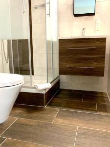 A bathroom at Spree - Waldhotel Cottbus