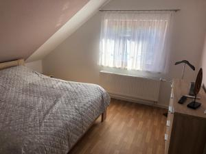 Postel nebo postele na pokoji v ubytování Ferienwohnung Kleistring