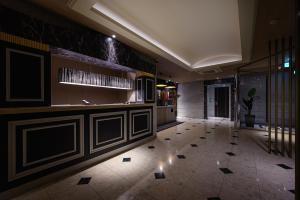 The lobby or reception area at HOTEL C.KOHOKU