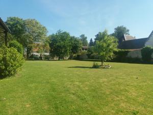 A garden outside Le Domaine Des Pierres