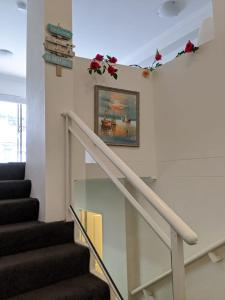The lobby or reception area at Comfort HS Apartment - Darling Harbour