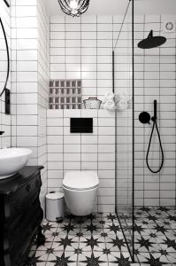 Koupelna v ubytování Mermaid Apartment