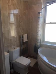 A bathroom at Nate Silver Apartment Gillingham