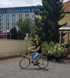Radfahren an der Unterkunft Pansion Maltar Varaždin oder in der Nähe