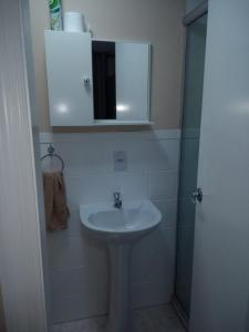 A bathroom at Apartamentos funcional II