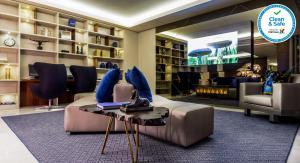 A biblioteca deste hotel
