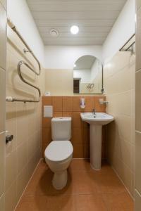 Ванная комната в Отель Спорт
