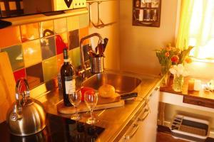 Een keuken of kitchenette bij Tulpenhuys