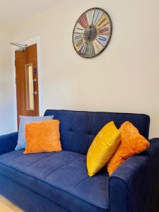 A seating area at Cannock House ~ 4 Bedrooms all with ensuite.